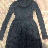 Вязанное платье. Фото 2.