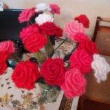 Цветы ручной работы. Фото 1.