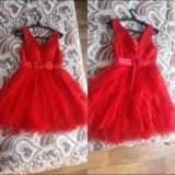 Очень красивое красное платье. Фото 2.