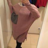 Тёплое длинное платье. Фото 1.