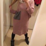 Тёплое длинное платье. Фото 2.