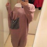 Тёплое длинное платье. Фото 3.