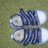 Кеды джинсовые. Фото 3. Звенигород.