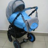 Детская коляска adamex champion 2в1. Фото 2.