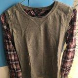 Рубашка-обманка oodji. Фото 1.