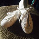 Кеды(белые)38-23,5см. Фото 2.