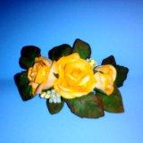 Ручная работа,цветы на заколках, резинках!!!. Фото 1.