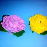 Ручная работа,цветы на заколках, резинках!!!. Фото 3.