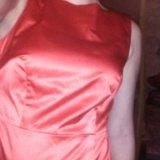 Атласное платье. Фото 2.