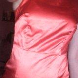 Атласное платье. Фото 3.