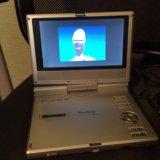 """Elenberg id-720 7"""" портативный dvd-плеер. Фото 2."""