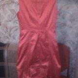 Атласное платье. Фото 4.