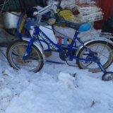 Велосипед на 4-7лет. Фото 1. Новокуйбышевск.