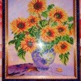Картина из бисера. Фото 1.