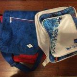 Сумка и рюкзак с олимпийской символикой.. Фото 1.