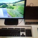 Компьютер в корпусе mini-itx. Фото 1. Химки.