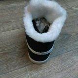 Кроссовки зимние nike. Фото 2.