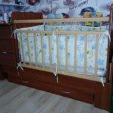 Детская кроватка-маятник. Фото 3.