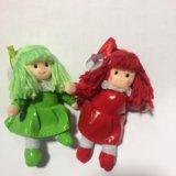 Куколки(с присоской для стекла). Фото 1.