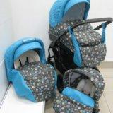 Детская коляска verdi futuro 3в1. Фото 1.