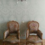 Замена обивки мягкой мебели. Фото 3.