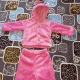 Теплый костюмчик для девочки. Фото 1. Юрга.