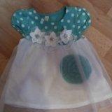 Платье для маленькой модницы. Фото 1.
