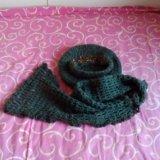 Комплект - берет и шарф. Фото 1.