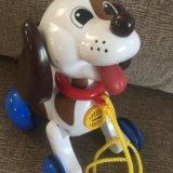 """Музыкальная каталка """"лающий щенок"""". Фото 1. Домодедово."""