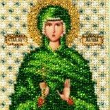 Икона святой великомученицы марины. Фото 1. Нижневартовск.