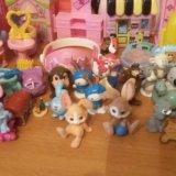 Игрушки из киндеров,детская мебель для мал.игрушек. Фото 1. Санкт-Петербург.
