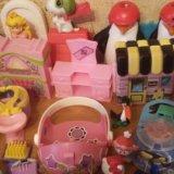 Игрушки из киндеров,детская мебель для мал.игрушек. Фото 2. Санкт-Петербург.