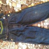 Комбинезон джинсовый. Фото 1.