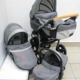 Детская коляска dpg denim 3в1. Фото 1. Тюмень.