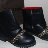 Зимняя обувь ботинки balmain. Фото 2.