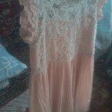 Платье кремового цвета. Фото 2.