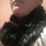 Воротник из меха кролика. Фото 2. Новосибирск.