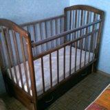 Детская кровать маятник. Фото 2.