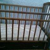 Детская кровать маятник. Фото 1.