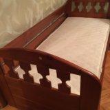 Кровать с ортопедическим матрасом. Фото 2. Москва.