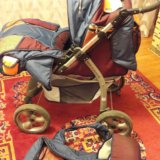 Детская коляска трансформем 3в1, фирма м&м. Фото 1. Ростов-на-Дону.