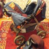 Детская коляска трансформем 3в1, фирма м&м. Фото 2. Ростов-на-Дону.