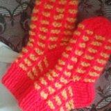 Тёплые носочки детские. Фото 1.