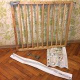 Барьер-калитка для защиты детей. Фото 3. Москва.
