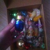 Советские игрушки на елку. Фото 1. Пермь.