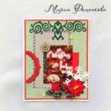 Новогодняя открытка. Фото 1. Великий Новгород.