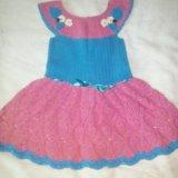 Платья для девочек 2-3,5-6 лет+панамочка на лето. Фото 3.
