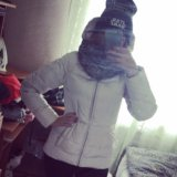 Куртка пуховик зима зола. Фото 1.