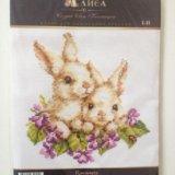 """🐇набор для вышивания крестом """"крольчата"""". Фото 1."""
