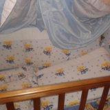 Кроватка детская+борты+матрац. Фото 1. Москва.